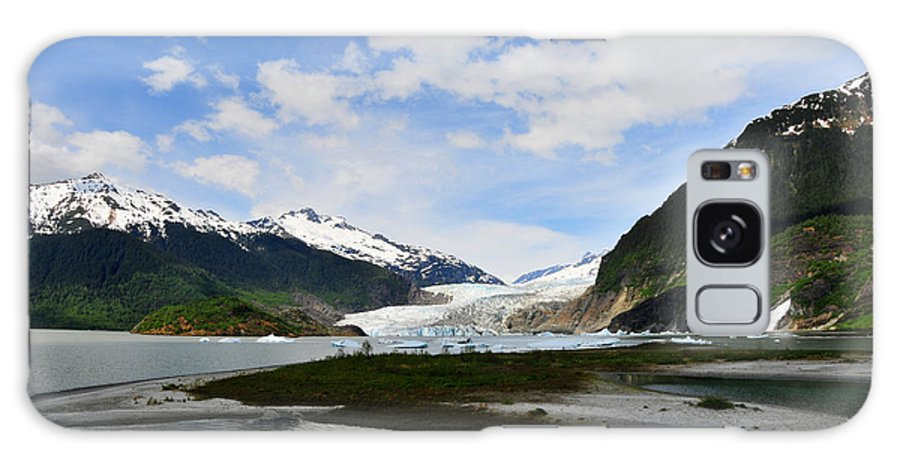 Mendenhall Galaxy S8 Case featuring the photograph Mendenhall Glacier by Keith Gondron