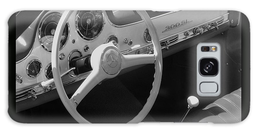 Mercedes Galaxy S8 Case featuring the photograph Mercedes 300sl Dashboard by Neil Zimmerman