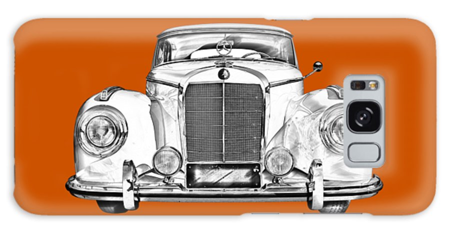 Mercedes Galaxy S8 Case featuring the photograph Mercedes Benz 300 Luxury Car Illustration by Keith Webber Jr