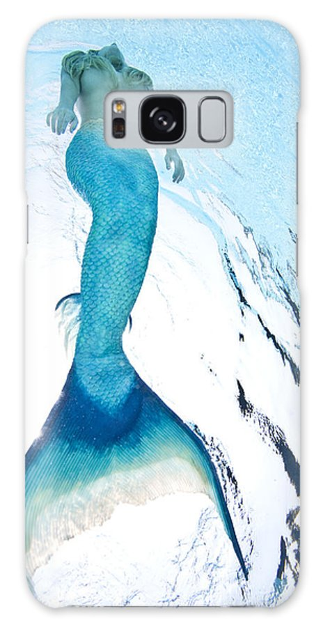 Mermaid Galaxy S8 Case featuring the photograph Mermaid Rise by Steve Williams