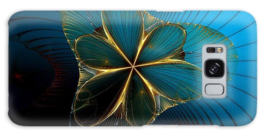 Digital Galaxy S8 Case featuring the digital art Mermaid's Corsage by Sandra Bauser Digital Art