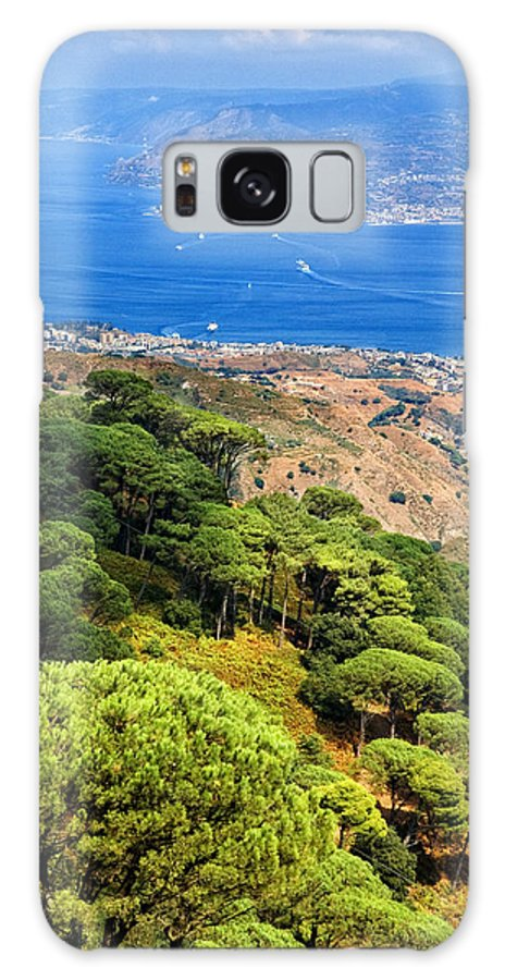 Italy Galaxy S8 Case featuring the photograph Messina Strait - Italy by Silvia Ganora