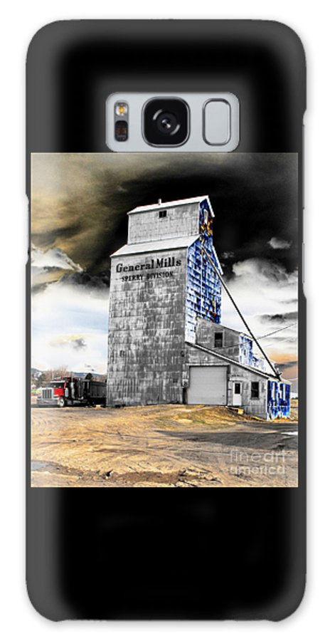 Barn Galaxy S8 Case featuring the photograph Metal Barn by Rebecca Margraf