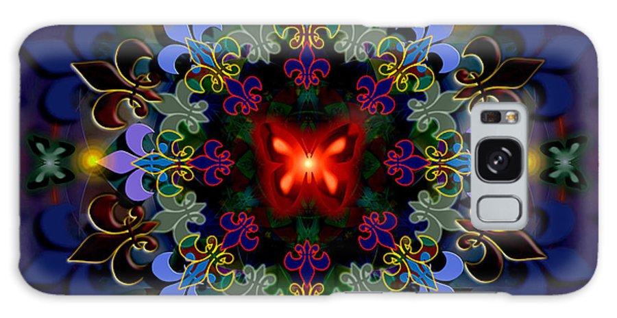 Spiritual Galaxy S8 Case featuring the digital art Metamorphosis Dream II by Stephen Lucas