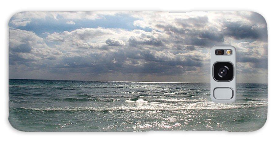 Miami Galaxy S8 Case featuring the photograph Miami Beach by Amanda Barcon
