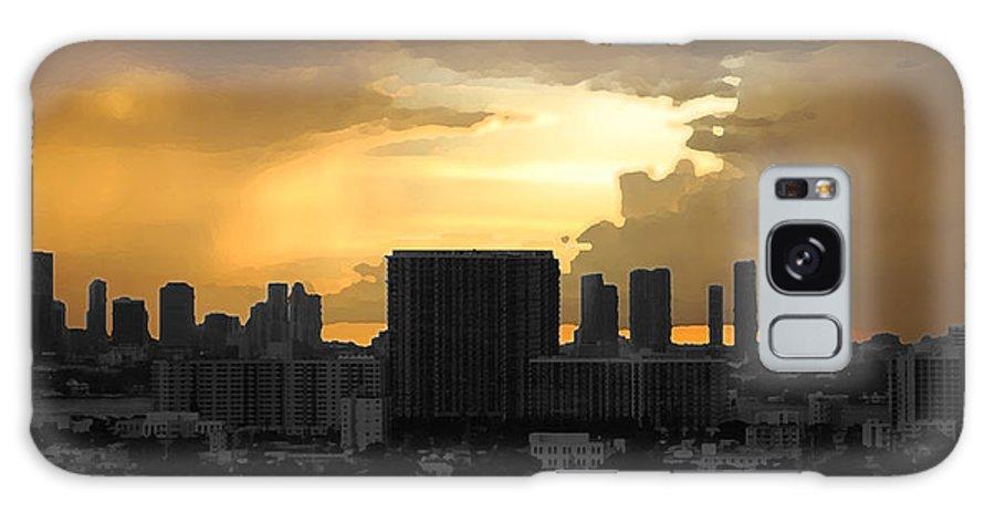 Landscape Galaxy S8 Case featuring the photograph Miami by Joseph Mari