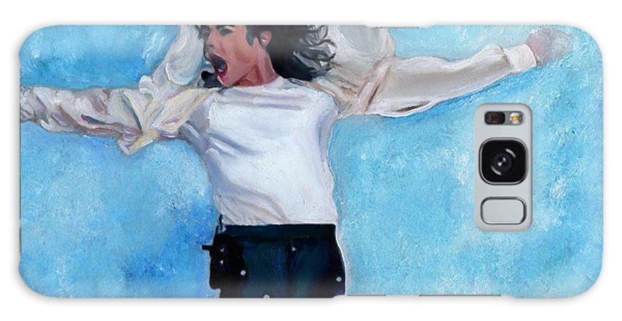 American Pop Galaxy S8 Case featuring the painting Michael by Vel Verrept