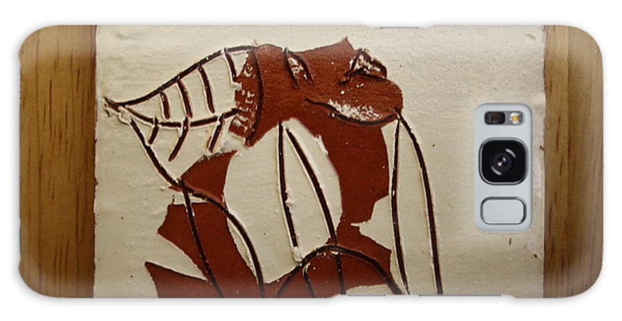 Jesus Galaxy S8 Case featuring the ceramic art Michelle - Tile by Gloria Ssali