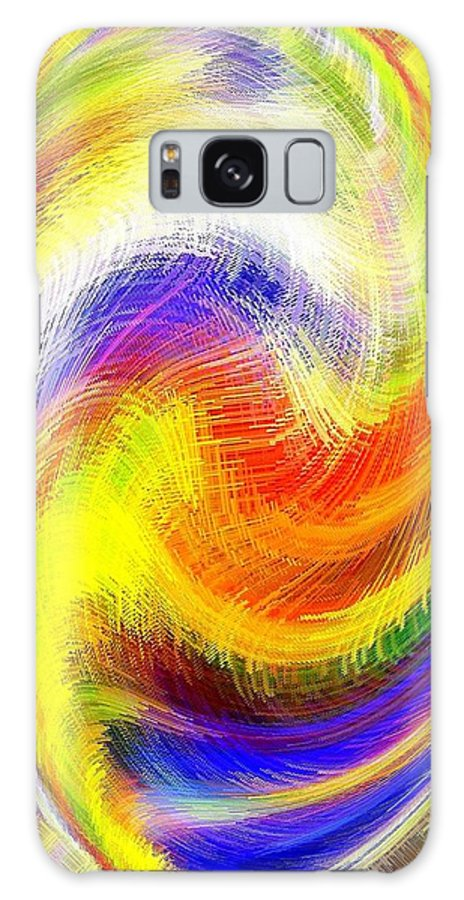 Micro Linear Galaxy S8 Case featuring the digital art Micro Linear 13 by Will Borden