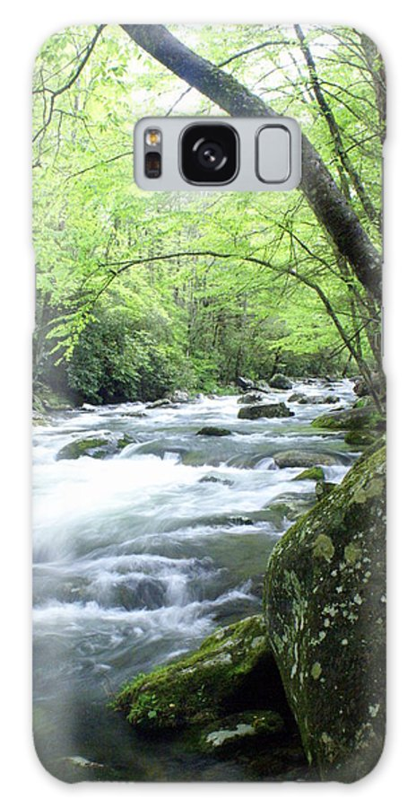 Stream Rive Galaxy S8 Case featuring the photograph Middle Fork River by Marty Koch