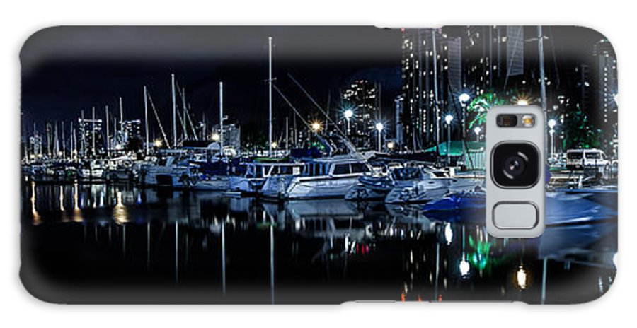 Ala Wai Boat Harbor Galaxy S8 Case featuring the photograph Midnight Blue II by Craig Watanabe