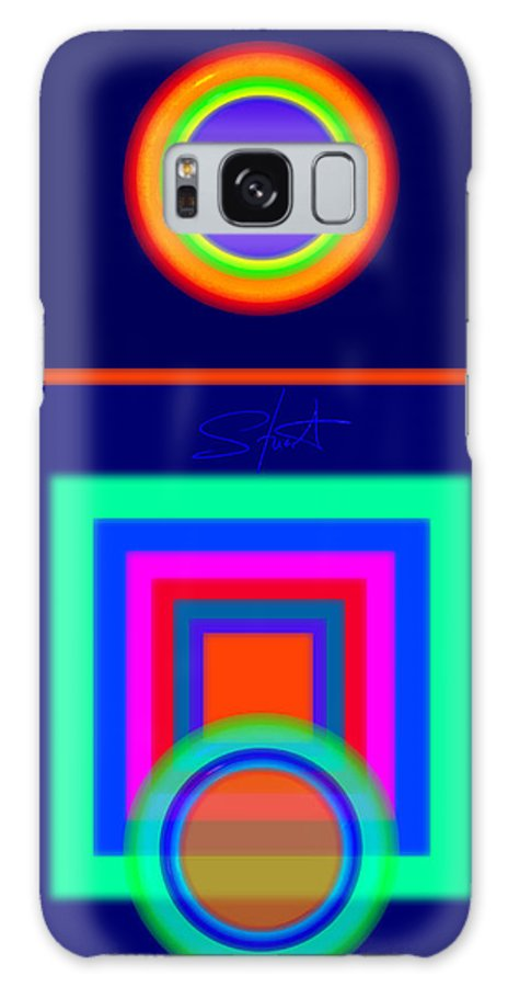 Classical Galaxy S8 Case featuring the digital art Midnight Journey by Charles Stuart