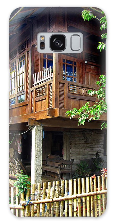 Architecture Galaxy S8 Case featuring the photograph Minahasa Traditional Home 2 by Mark Sellers