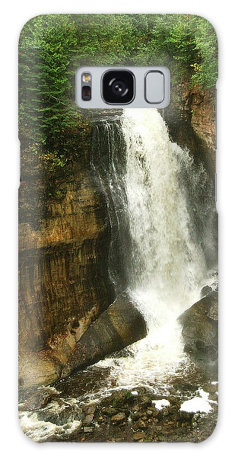 Miners Falls Galaxy S8 Case featuring the photograph Miners Falls by Michael Peychich