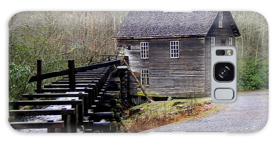Great Smokey Mountain National Park Galaxy S8 Case featuring the photograph Mingus Mill by Marty Koch