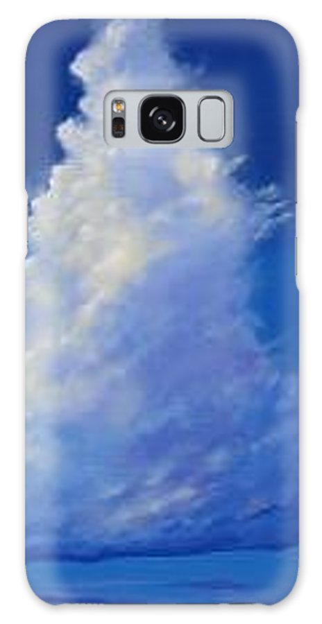 Clouds Galaxy S8 Case featuring the painting Minor Earth Major Sky by Hunter Jay