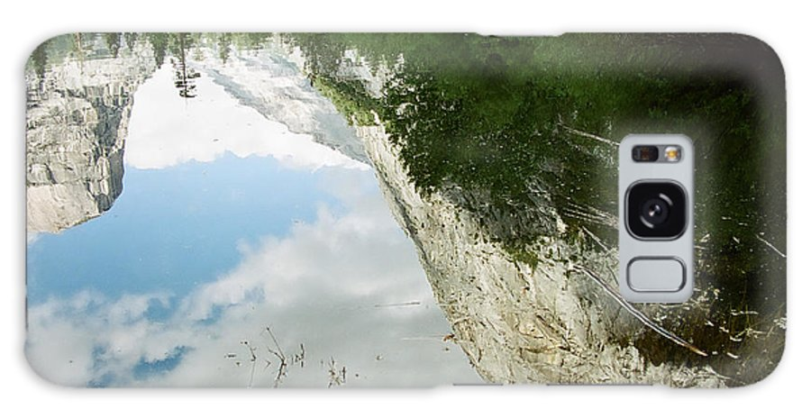 Mirror Lake Galaxy Case featuring the photograph Mirrored by Kathy McClure