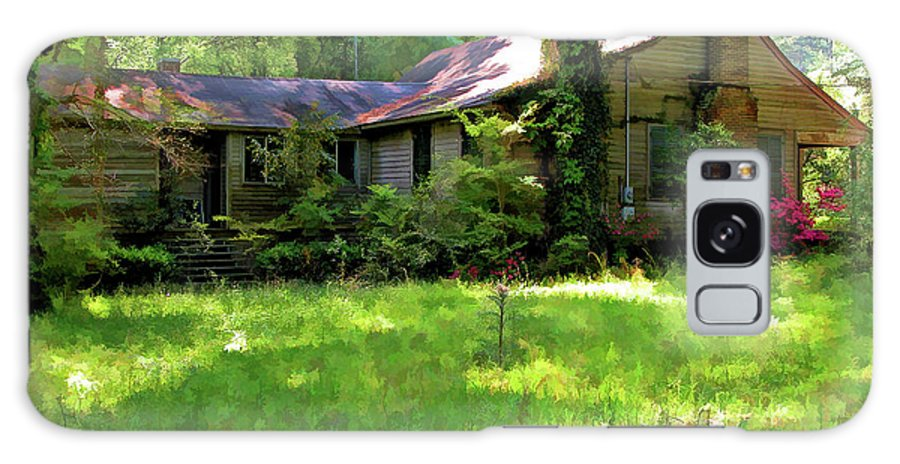 Photography Galaxy S8 Case featuring the photograph Mississippi Country Place by Kathleen K Parker