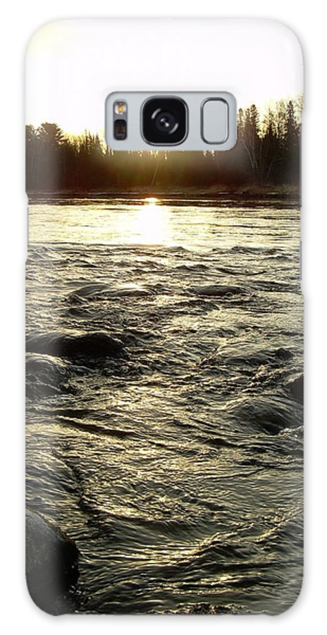 Mississippi River Galaxy S8 Case featuring the photograph Mississippi River Dawn Reflection by Kent Lorentzen