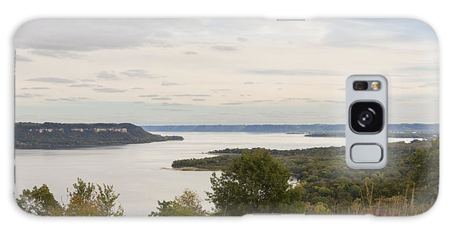 River Galaxy S8 Case featuring the photograph Mississippi River Lake Pepin 10 by John Brueske