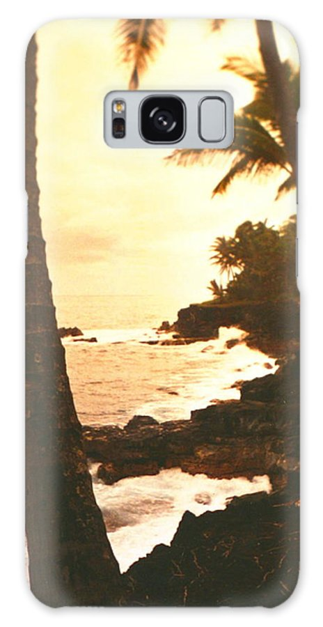 Beach Galaxy S8 Case featuring the photograph Misty Dawn by Diane Merkle