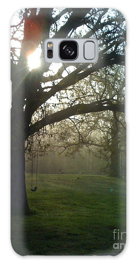 Mist Galaxy Case featuring the photograph Misty Morning by Nadine Rippelmeyer