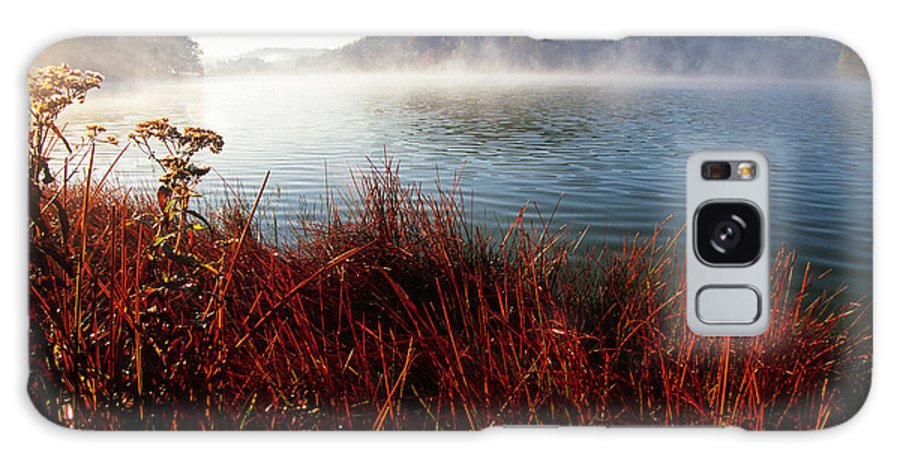 Big Ditch Lake Galaxy S8 Case featuring the photograph Misty Morning On The Lake by Thomas R Fletcher
