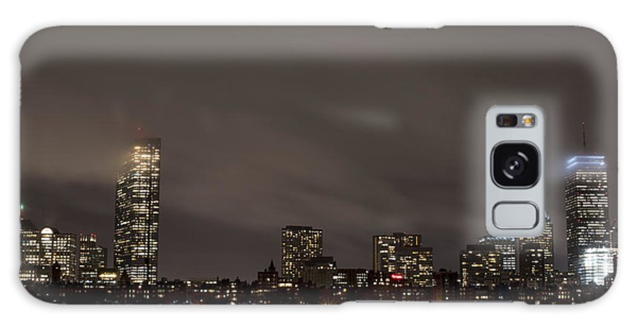 Boston Galaxy S8 Case featuring the photograph Misty Night On The Charles River Boston Ma by Toby McGuire