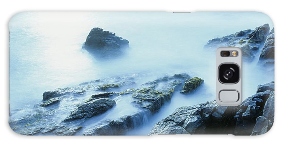 Abstract Galaxy S8 Case featuring the photograph Misty Ocean by Larry Dale Gordon - Printscapes