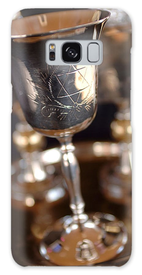 Mitzvah Galaxy S8 Case featuring the photograph Mitzvah Cup by Jill Reger