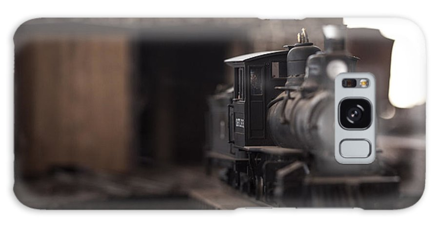Model Galaxy S8 Case featuring the photograph Model Train by Wesley Farnsworth