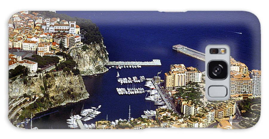 Rich Galaxy Case featuring the photograph Monaco On The Mediterranean by Carl Purcell