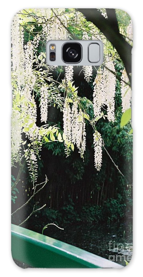 Monet Galaxy Case featuring the photograph Monet's Garden Delights by Nadine Rippelmeyer