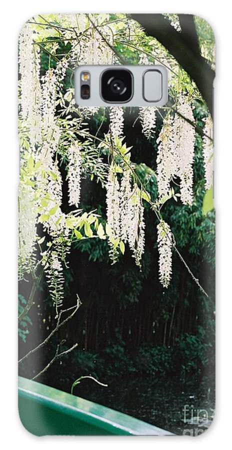 Monet Galaxy S8 Case featuring the photograph Monet's Garden Delights by Nadine Rippelmeyer