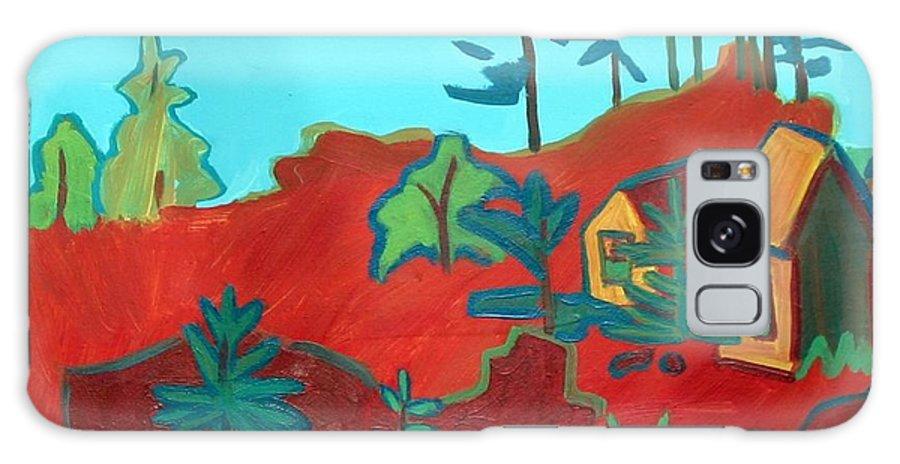 Beach Galaxy S8 Case featuring the painting Monhegan Hue by Debra Bretton Robinson