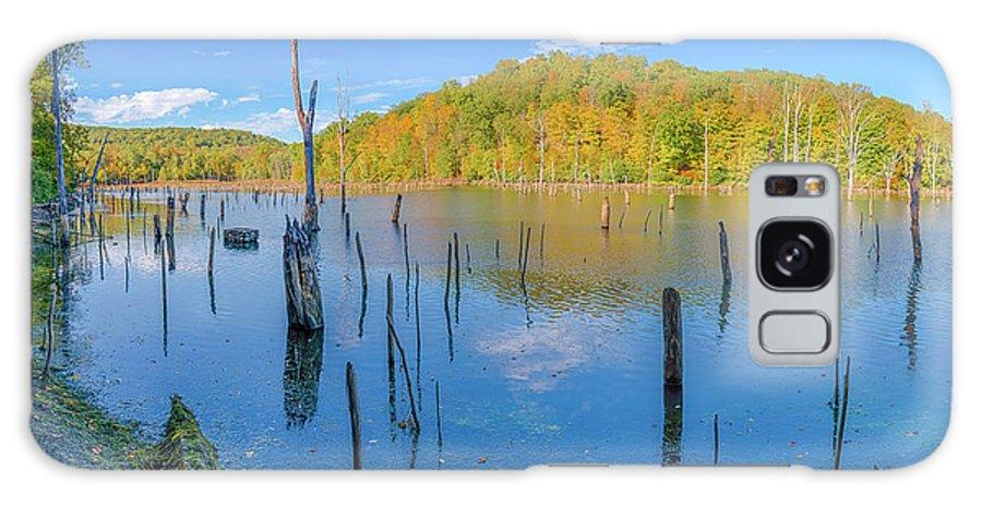 Monksville Galaxy S8 Case featuring the photograph Monksville Reservoir Fall 2016 by John Prause