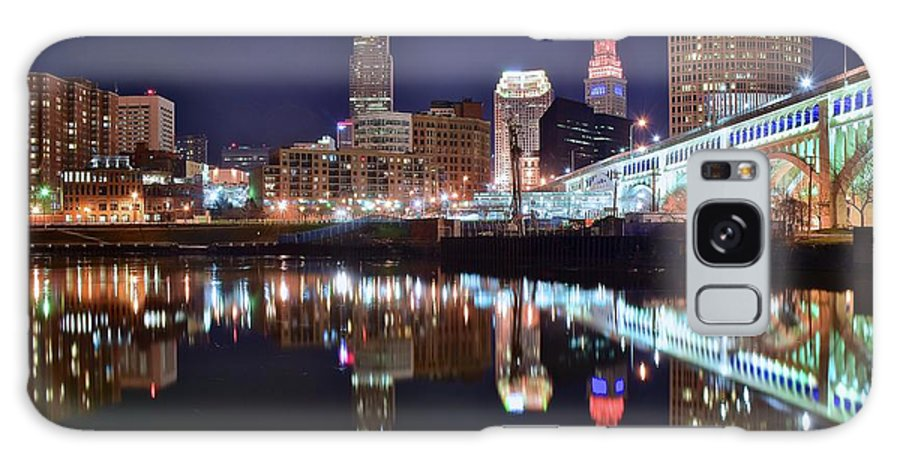 Cleveland Galaxy Case featuring the photograph Mood Lighting by Frozen in Time Fine Art Photography