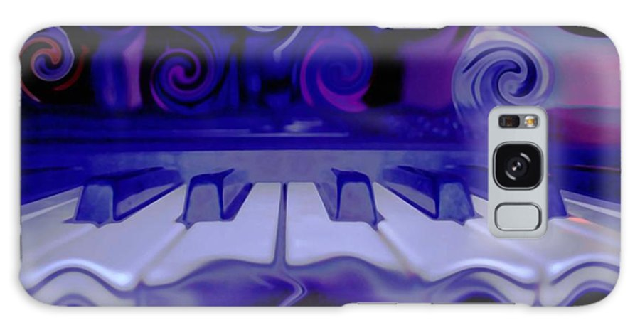 Music Galaxy S8 Case featuring the photograph Moody Blues by Linda Sannuti