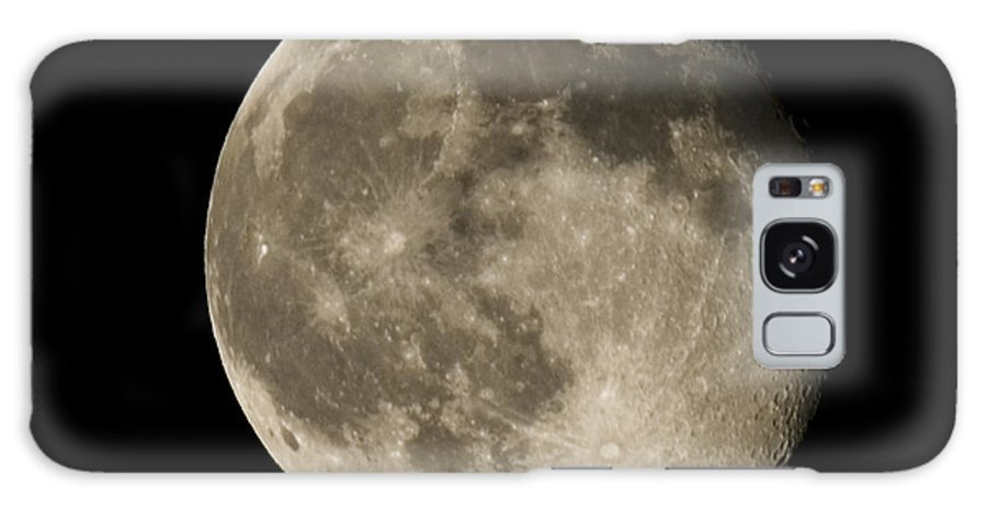 Galaxy S8 Case featuring the photograph Moon3 by Brian Jordan