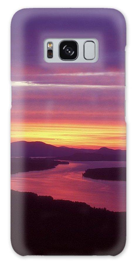 Mooselookmeguntic Lake Galaxy S8 Case featuring the photograph Mooselookmeguntic Lake Maine by John Burk