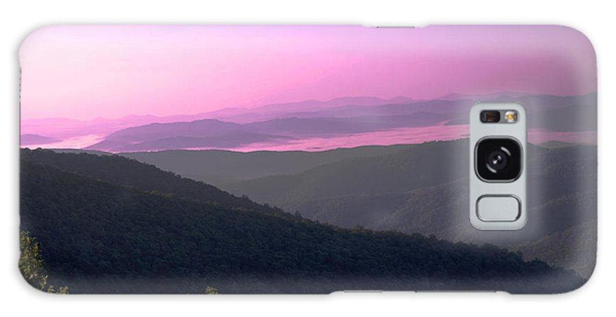Mountains Galaxy S8 Case featuring the photograph Morning At Pisgah by Patricia Motley