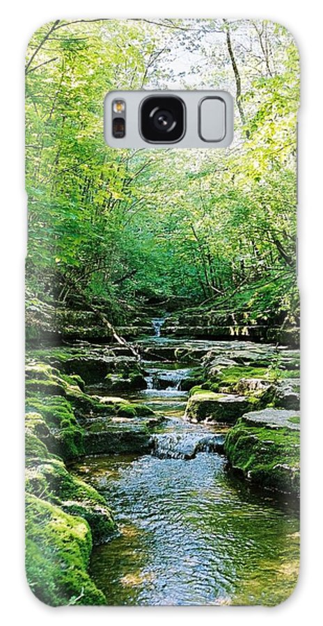 Water Galaxy S8 Case featuring the photograph Morning Begins At Raven Run by Christopher Hignite