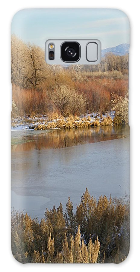 River Galaxy S8 Case featuring the photograph Morning Chill by Gale Cochran-Smith