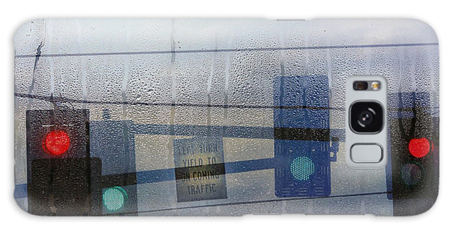 Rain Galaxy S8 Case featuring the photograph Morning Commute by Rebecca Cozart