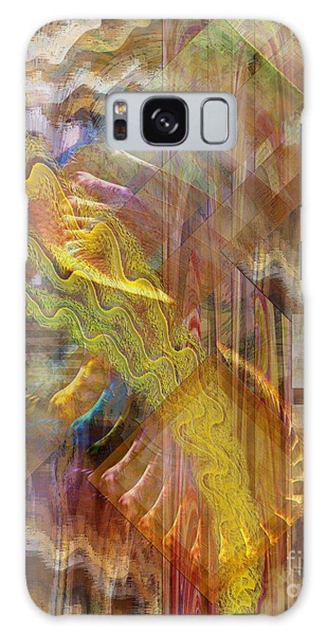 Morning Dance Galaxy Case featuring the digital art Morning Dance by John Beck