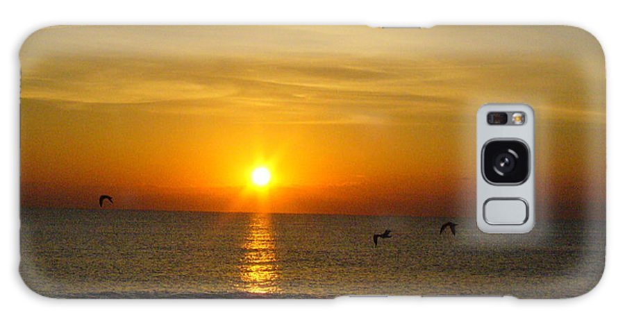 Ocean Galaxy S8 Case featuring the photograph Morning Has Broken by Peggy King