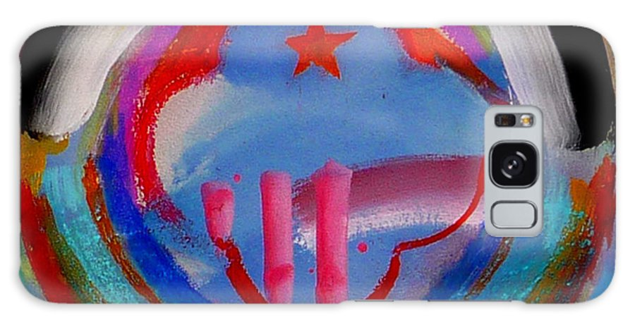 Logo Galaxy Case featuring the painting Morning Light by Charles Stuart
