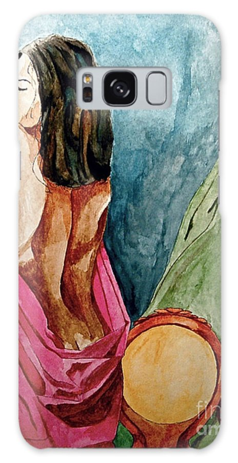 Nudes Women Galaxy S8 Case featuring the painting Morning Light by Herschel Fall