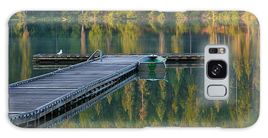 Dock Galaxy S8 Case featuring the photograph Morning Light by Idaho Scenic Images Linda Lantzy