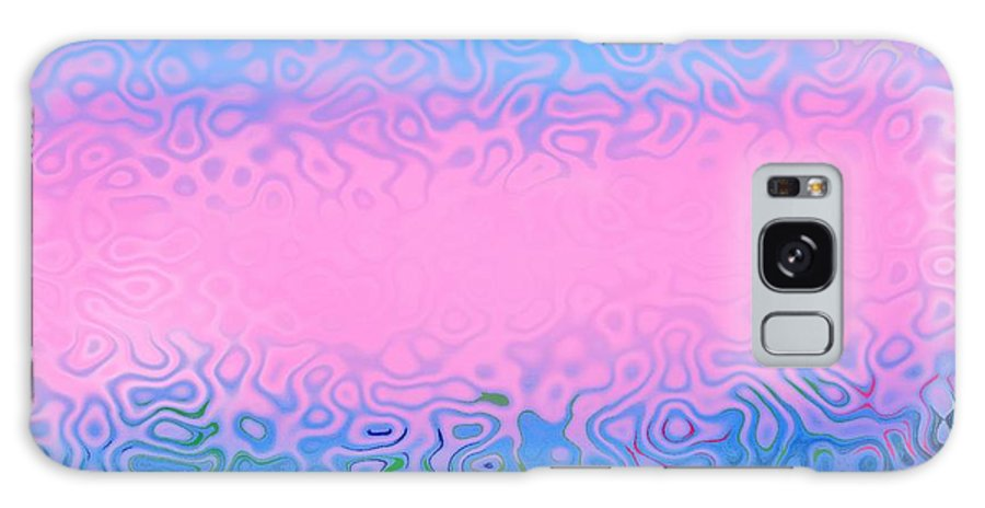 Morning.sea.fog.sun.water Illusions.morning Cold.colors Blue.rose. Galaxy S8 Case featuring the digital art Morning Sea Fog.cold Water by Dr Loifer Vladimir